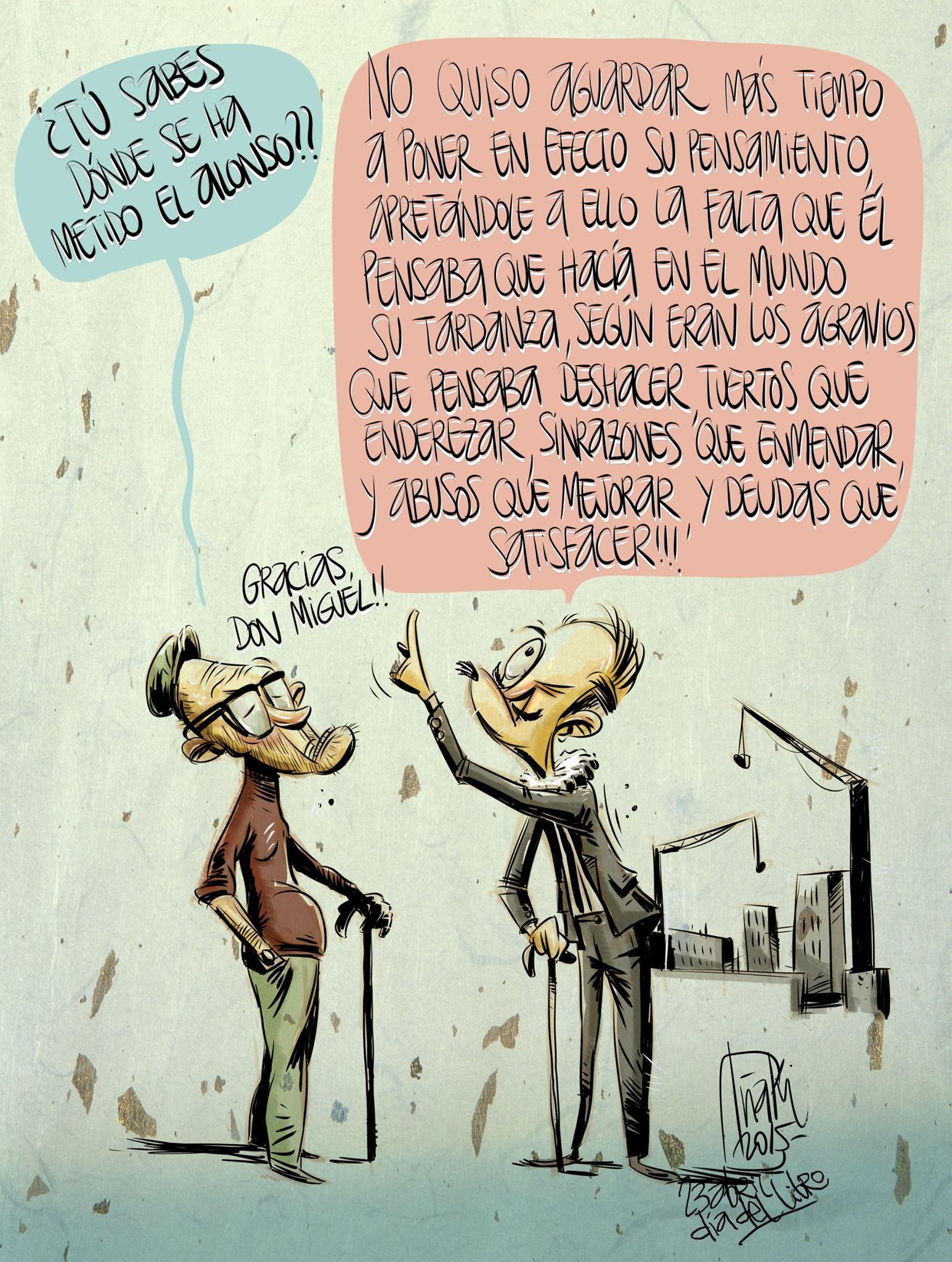 Día del Libro Homenaje a Cervantes