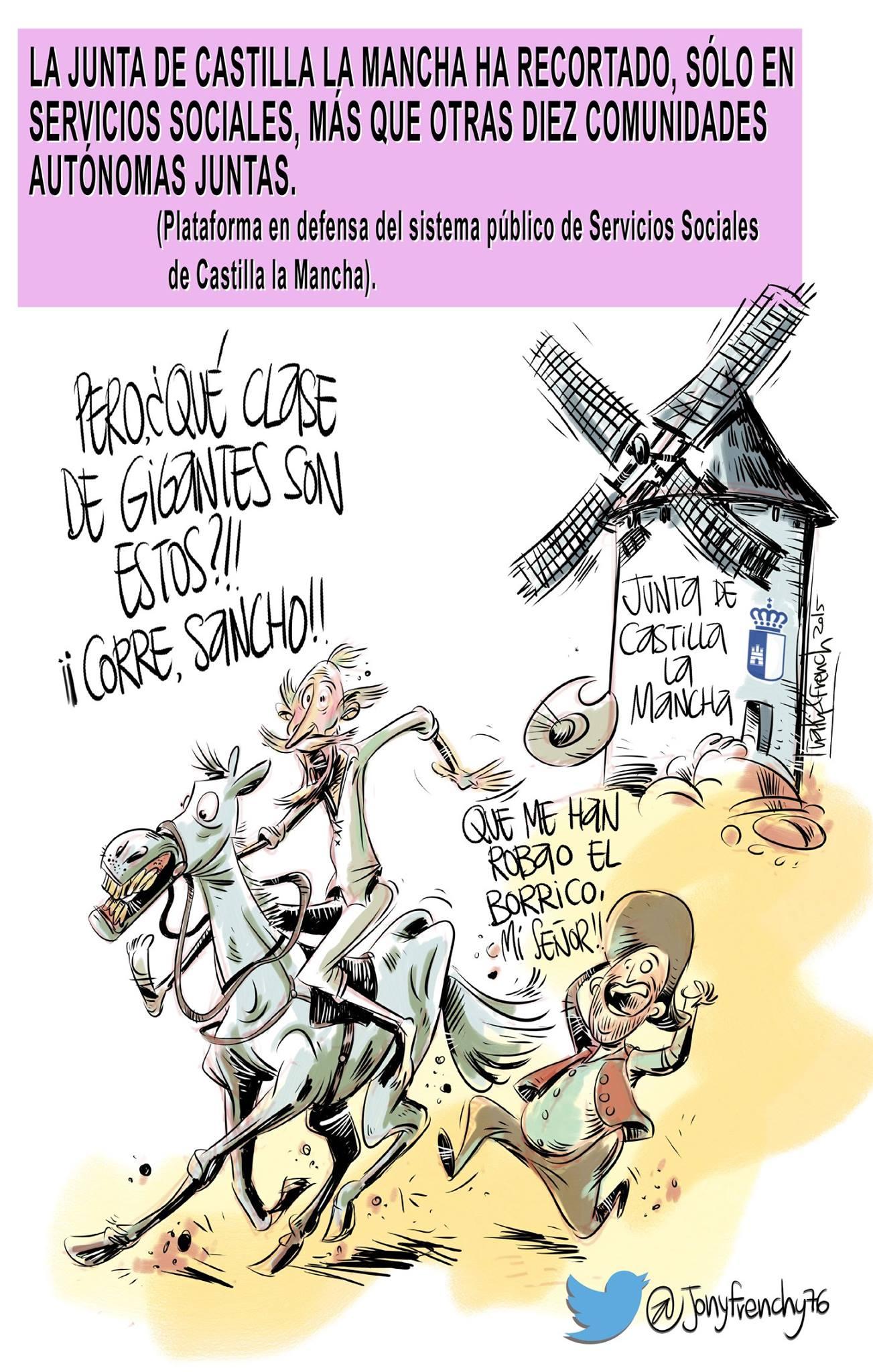 Recortes Quijote y Sancho
