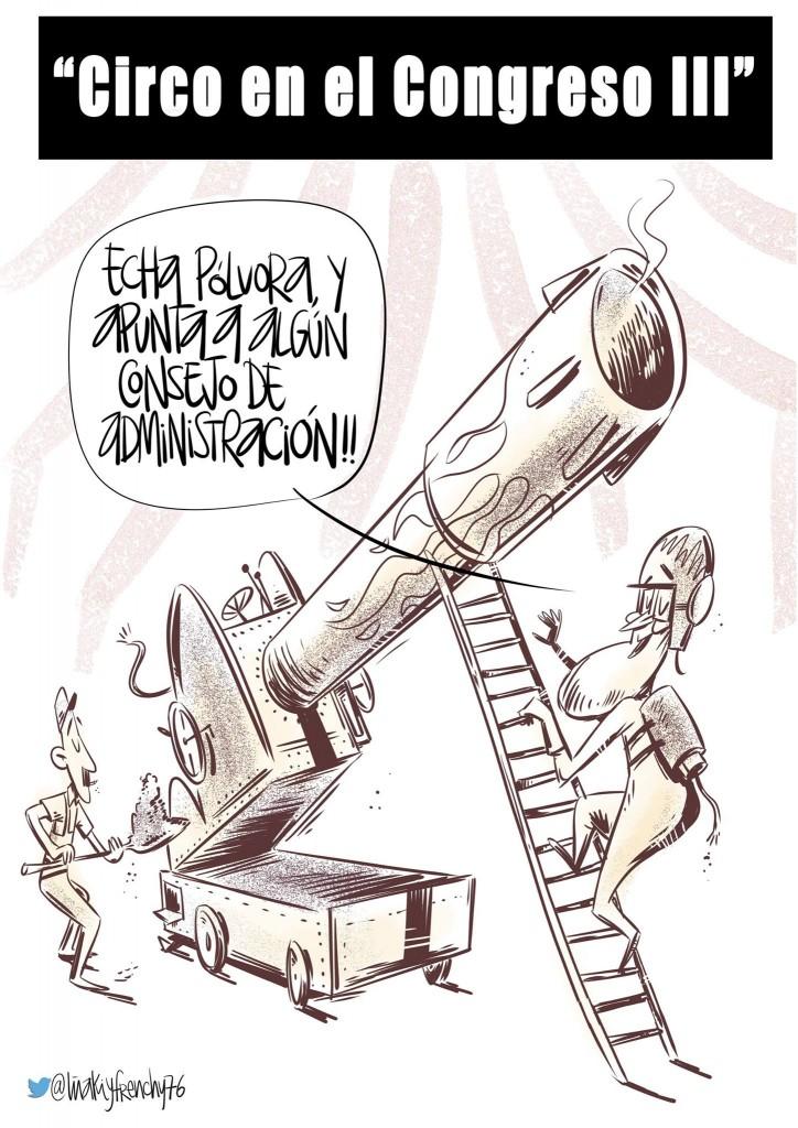 Circo en el Congreso III