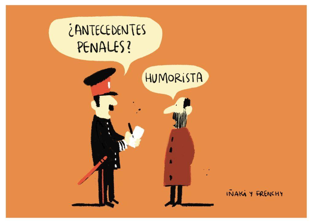 3ºPUESTO en la II Edición de los premios Forges de Humor Gráfico y Comic.